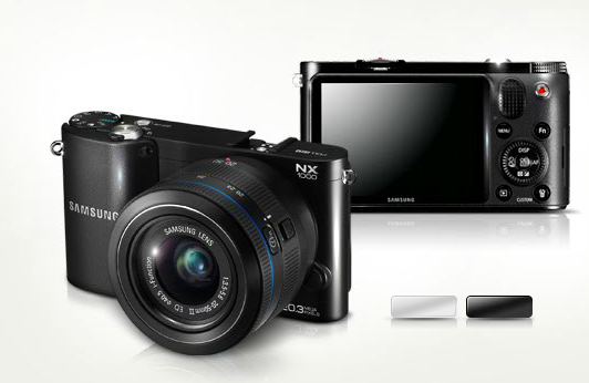 Samsung SMART CAMERA NX1000 (with built in Wi-Fi)