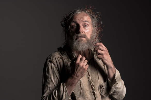 COLM FEORE AS KING LEAR.  PHOTO BY DON DIXON.